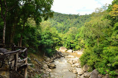 Obluang national park, Chiangmai province. Stock Photos