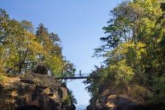 Obluang nationalpark Arkivfoton