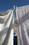 Obmycie w Burano wyspie, Wenecja obraz stock
