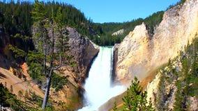 Obniża spadki Yellowstone zbiory
