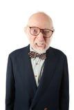 Obnoxious Senior Man Stock Photography