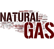 obłoczny benzynowy naturalny słowo Zdjęcia Royalty Free