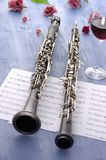 Oboe and Clarinet Summer Feeling Stock Photo