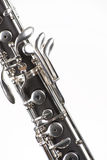 Oboe Isolated On White Royalty Free Stock Image