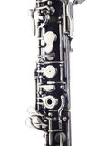 Oboe music instruments isolated Stock Images