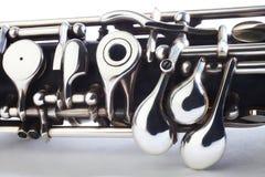 Oboe - strumenti musicali Fotografie Stock Libere da Diritti