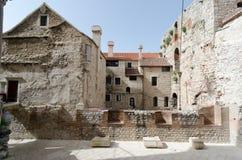 Obok Diocletian pałac Obrazy Stock