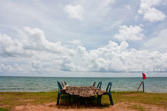 Obok morza rybia morze suszarka Fotografia Royalty Free