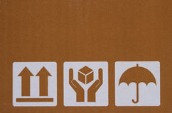 Obok pudełka Obrazy Stock