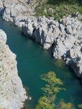 Oboke峡谷 免版税库存图片