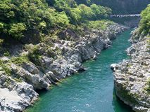 Oboke Gorge. In Tokushima, Japan Stock Images