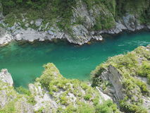 Oboke Gorge in Tokushima, Japan Stock Photos
