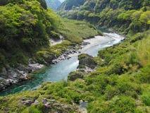 Obokekloof in Tokushima, Japan royalty-vrije stock foto's