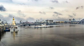 Obolonskaya lizenzfreies stockfoto