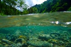 Obonaigawa River, Japan Royalty Free Stock Photo