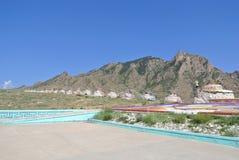 Oboos και βουνό Helan Στοκ φωτογραφία με δικαίωμα ελεύθερης χρήσης