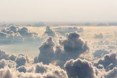 Obove the cloud royalty free stock image