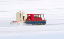 obowiązku patrolowa ratowniczej usługa snowmobile zima Zdjęcie Royalty Free