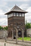 obozowa Auschwitz koncentracja obrazy stock