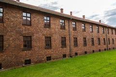 obozowa Auschwitz koncentracja zdjęcia royalty free