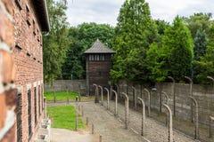 obozowa Auschwitz koncentracja fotografia royalty free