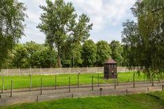 obozowa Auschwitz koncentracja obraz stock