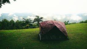 Obozować przy Si Nan parkiem narodowym Tajlandia Zdjęcia Stock