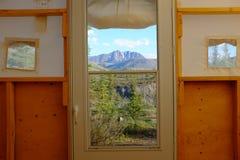 Obozować w Ivvavik parku narodowym Obrazy Royalty Free