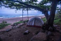 Obozować w Kauai Obraz Royalty Free