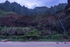 Obozować w Kauai Zdjęcia Royalty Free