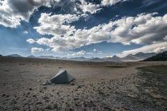 Obozować w sierra Nevada góry Zdjęcia Stock