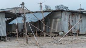 Obozowi pracownicy Zdjęcie Royalty Free