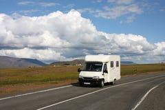 obozowicza Iceland samochód dostawczy Zdjęcia Stock