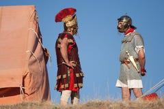 obozowy rzymski obrazy stock