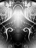 obróć fractal tekstury obcych ilustracja wektor