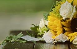 Obrączka ślubna Obraz Royalty Free