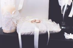 Obrączka ślubna kochanków bridal buty Obraz Royalty Free