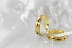 Obrączki ślubne  Zdjęcia Royalty Free