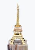 Obrączki ślubne na statuy wieży eifla Zdjęcia Royalty Free