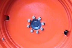 Obręcza ciągnik Fotografia Royalty Free