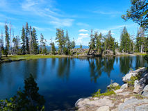 Obręcz jezioro Obraz Royalty Free
