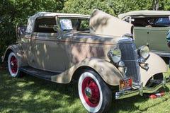 Obra clásica convertible 1934 del cabriolé de Ford foto de archivo