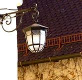Obra clásica de la lámpara de calle fotografía de archivo