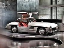 Obra clásica del SL del Benz de Mercedes Imagen de archivo libre de regalías