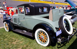Obra clásica REO Automobile 1928 Imagen de archivo