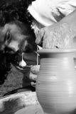 Obra maestra de un alfarero Foto de archivo libre de regalías