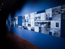 Obra maestra memorable de las noticias importantes para la historia coreana entera imagen de archivo