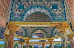 A obra-prima da arte islâmica Fotografia de Stock Royalty Free