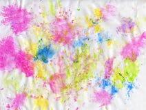 Obra-prima da arte Pintura a óleo abstrata Imagem pintada pelas mãos Pinceladas de cores diferentes ilustração royalty free