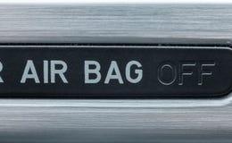 Obracać z przerwami operacja airbags w samochodzie obrazy royalty free